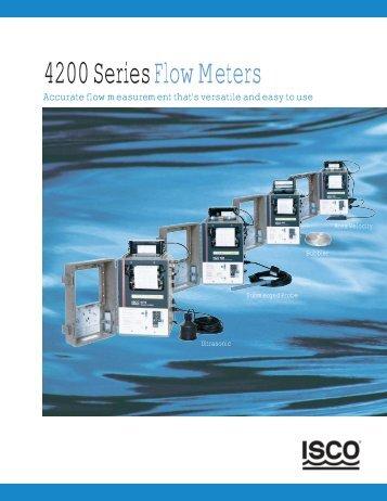 4200 Series Flow Meters - Isco