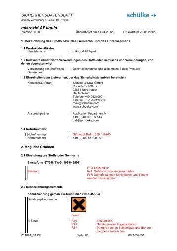 mikrozid AF liquid - WIBU | Medizinischer Bedarf