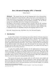 Java Advanced Imaging API: A Tutorial - seer ufrgs