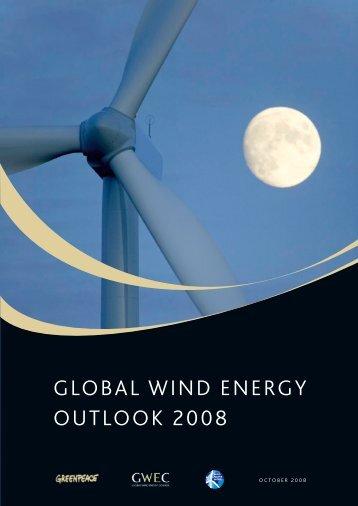 Download Global Wind Energy Outlook 2008