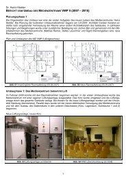Umbaubericht 2007-2010 - Departments SLM - Universität Hamburg