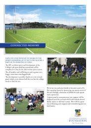 turf sponsorship form - Saint Patrick's College