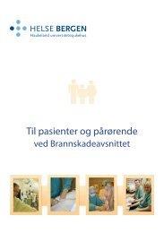 Informasjon til pasientar og pårørande ved ... - Helse Bergen