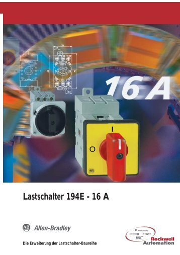 Lastschalter 194E 16A