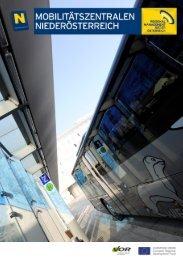 Infobroschüre herunterladen - Mobilitätszentralen in NÖ