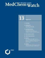 Download MedChemWatch in PDF format - EFMC