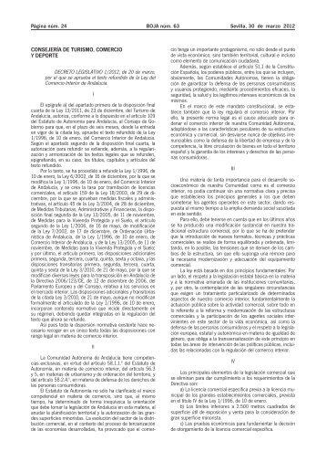 Decreto Legislativo 1/2012 - Boletín Oficial de Aragón