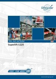 Superlift S 225 - Albert Böcker GmbH & Co. KG
