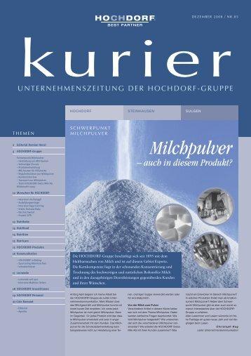 Milchpulver - Hochdorf