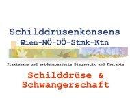Vorstellung des Wiener Schilddrüsenkonsens