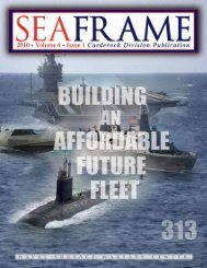 Volume 6, Issue 1 - Naval Sea Systems Command - The US Navy