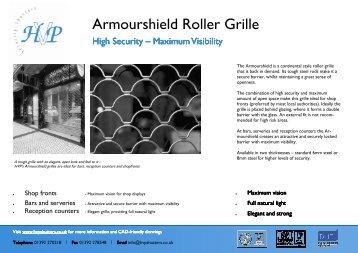 Technical Brochure - HVP Security Shutters