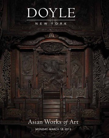 Asian Works of Art - Doyle New York
