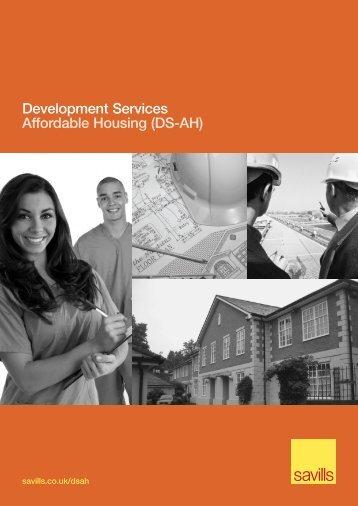 Development Services Affordable Housing (DS-AH) - Savills