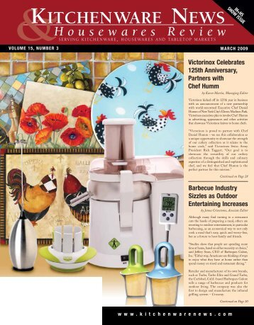 KITCHENWARE NEWS - Oser Communications Group