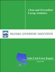 Association Clean and Diversified Energy Initiative