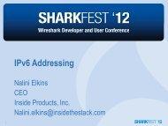 IPv6 Addressing - Sharkfest