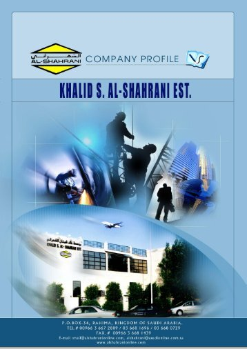 TABLE OF CONTENTS - Khalid S. Al-Shahrani