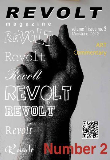 Volume 1, Issue No. 2 - Revolt Magazine