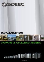 Catalogue d'exemples d'installations, implantations et ... - Sdeec