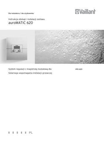 instrukcja instalacji i obsÃ…Â'ugi auroMATIC 620 w.2 (2.65 MB) - Vaillant