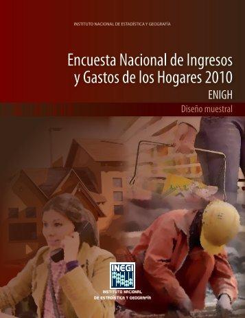 Encuesta Nacional de Ingresos y Gastos de los Hogares ... - Inegi