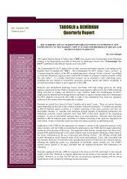 Quarterly Report (July - September 2009)