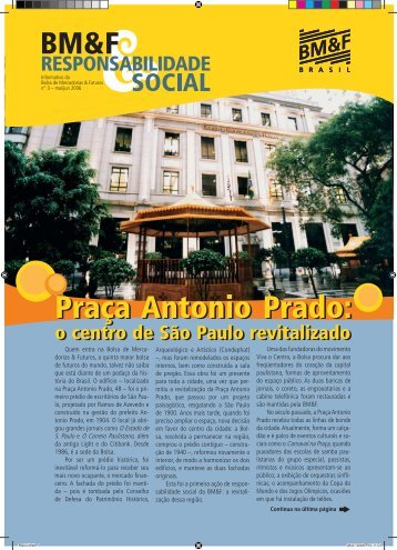 Praça Antonio Prado - Viva o Centro