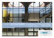 2008 - L'unité de traitement des pollutions azotées - SIAAP