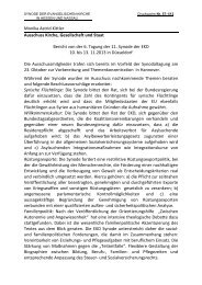 Monika Astrid Kittler Ausschuss Kirche, Gesellschaft und Staat ...