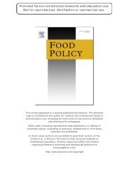 Identifying Consumer Preferences for Nutrition ... - ResearchGate