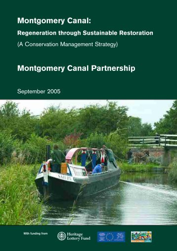 Montgomery Canal Conservation Management Strategy (1.2MB PDF)
