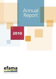 Annual Report 2010 - Efama