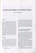 La gestión arqueológica de la ciudad de Zaragoza - Grupo de ... - Page 5