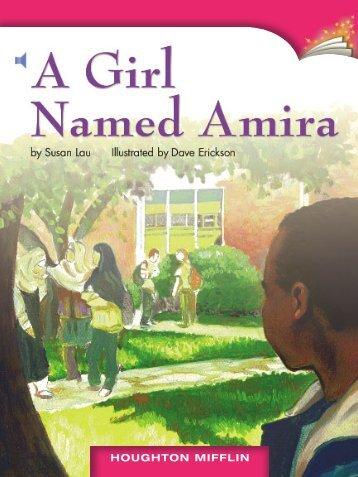 Lesson 8:A Girl Named Amira