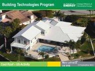 Building Technologies Program - Global Cool Cities Alliance