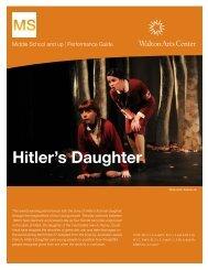Hitler's Daughter - Walton Arts Center