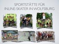 sportstätte für inline-skater in wolfsburg - ErlebnisRegion 2020