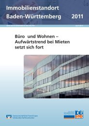 Immobilienstandort Baden-Württemberg 2011 - Deutsche ...