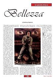 Bellezza - Anpi