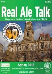 Real Ale Talk Spring 2012 - Heavy Woollen CAMRA