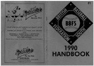 bbfs handbook 1990 - Project COBB
