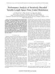 Performance Analysis of Iteratively Decoded Variable-Length Space ...