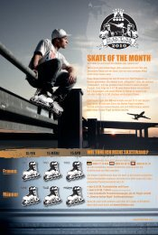 SKATE OF THE MONTH - JM-sports.de