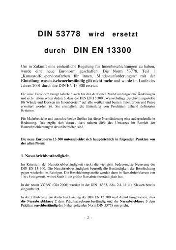 Din En 13300 : magazine ~ Orissabook.com Haus und Dekorationen