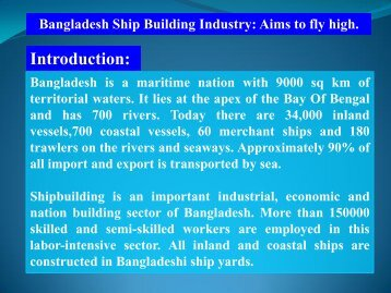 Introduction: - ASEF - Asian Shipbuilding Experts