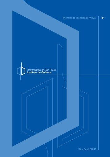 São Paulo'2011 Manual de Identidade Visual - Instituto de Química