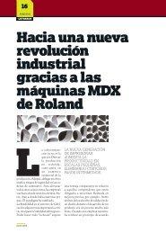 Hacia una nueva revolución industrial gracias a ... - Revista Letreros