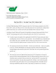 PRESS RELEASE: Wednesday: May 23, 2012 - Energy Vision