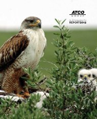 Sustainability Report - ATCO Group